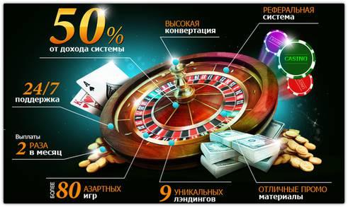 Партнерка AzartCash: заработок на азарте.