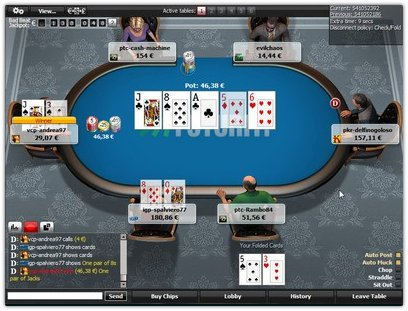 Покер-рум FUTURITI.