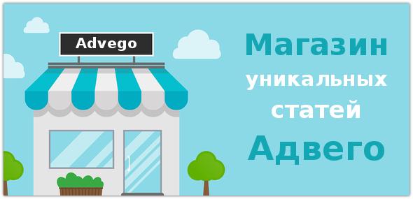 Как заработать на продаже статей через магазин Advego.